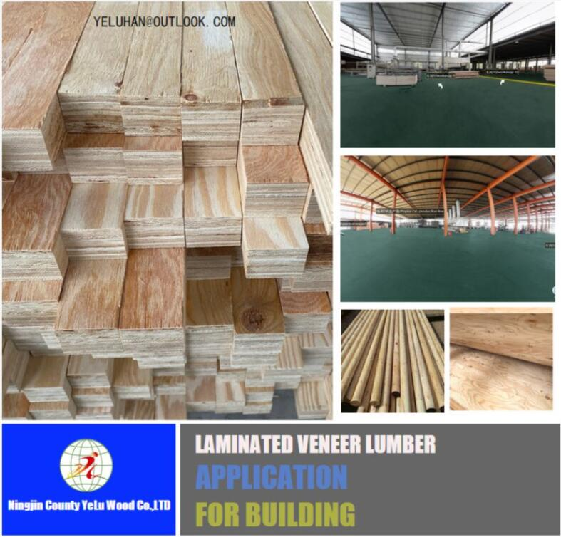 CONSTRUCTION LVL FOR pine wood lumber Pine LVL use for LVL beam plywood winply