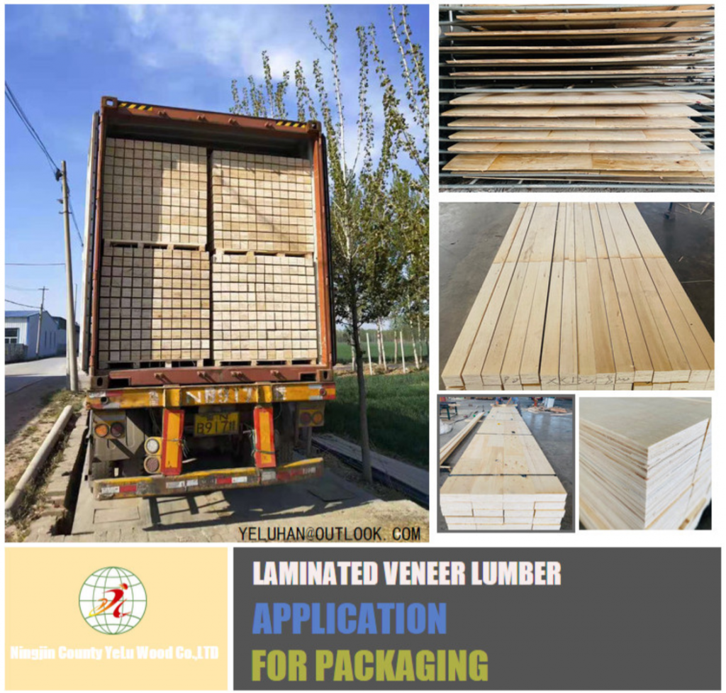 PACKING LVL FOR PALLETS IN CHINA